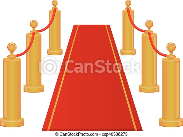 red carpet entrance vector icon vector illustration of a vectors rh canstockphoto com red carpet vector png red carpet vector free