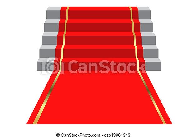 Red Carpet - csp13961343