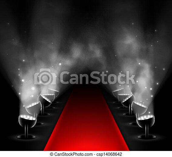 Red carpet - csp14068642