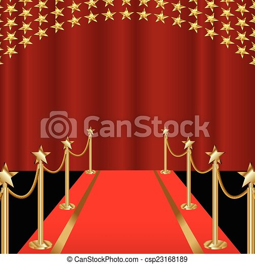 RED CARPET - csp23168189