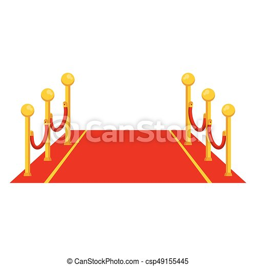 red carpet icon red carpet entrance on event for vip eps vector rh canstockphoto com red carpet vector art red carpet vector free