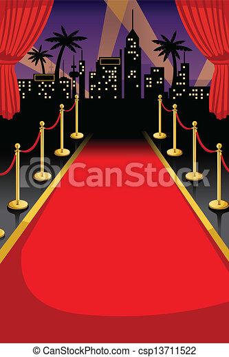 Red carpet - csp13711522