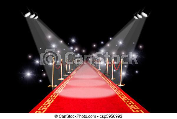 Red carpet - csp5956993