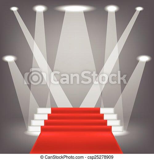 red carpet - csp25278909