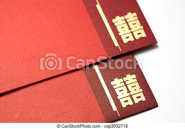 Red chinese wedding invitation card stock photographs search photo red chinese wedding invitation card csp3032719 stopboris Choice Image