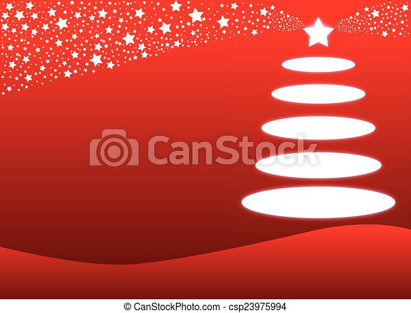 Red Christmas Background - csp23975994