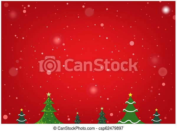 Red Christmas Background - csp62479897