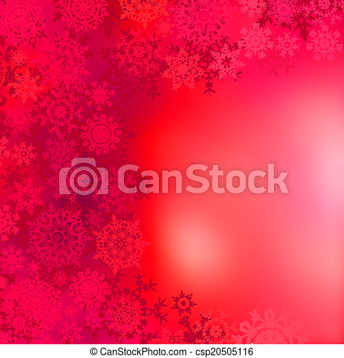 Red christmas background. EPS 8 - csp20505116