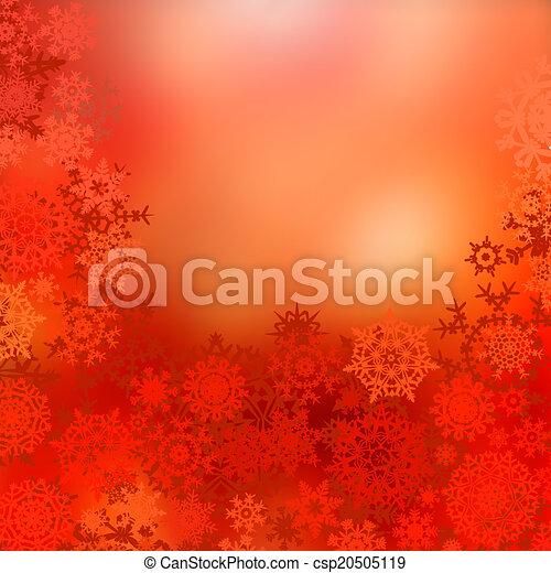 Red christmas background. EPS 8 - csp20505119