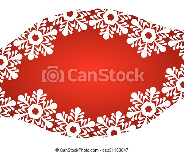 Red Christmas background - csp31133047