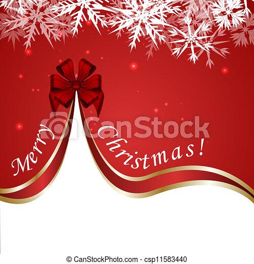 Red Christmas Design - csp11583440