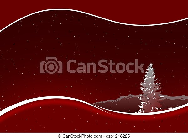 Red Christmas - csp1218225