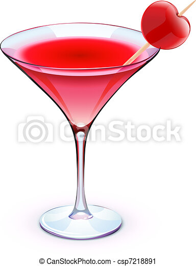 red cocktail - csp7218891