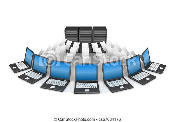 Red de computadoras - csp7684176