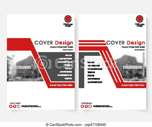 Red cover design template for annual report modern business concept red cover design template for annual report modern business concept booklet with infographics flyer spiritdancerdesigns Image collections