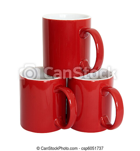 Red cups - csp6051737