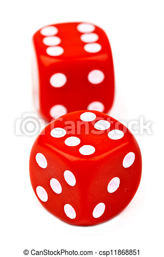 Red Dice - csp11868851