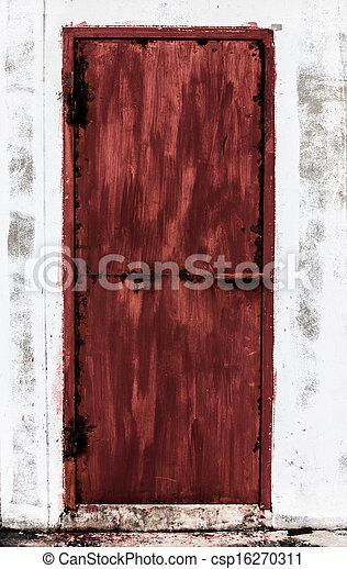 Red door - csp16270311
