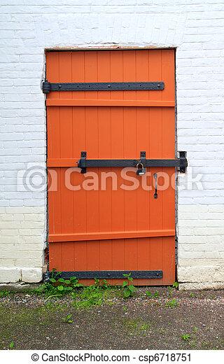 red door - csp6718751