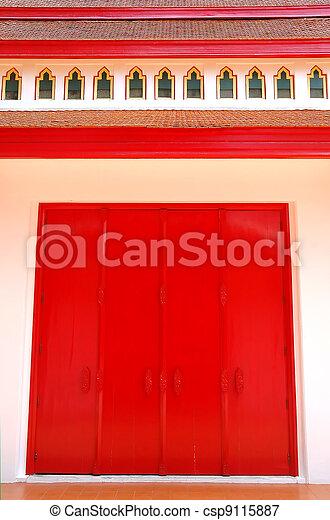red door - csp9115887