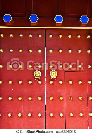 Red door - csp3896018