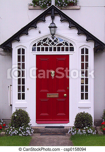Red door - csp0158094