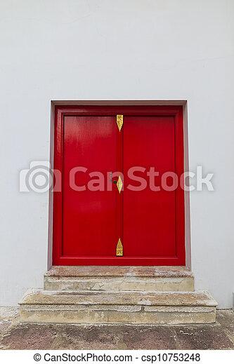red door  - csp10753248