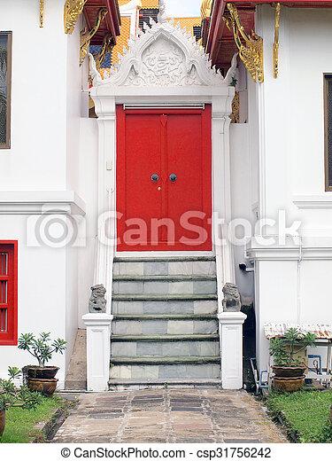 Red door  - csp31756242