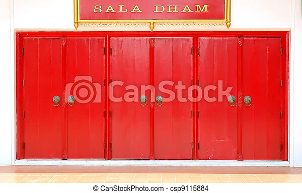 red door - csp9115884