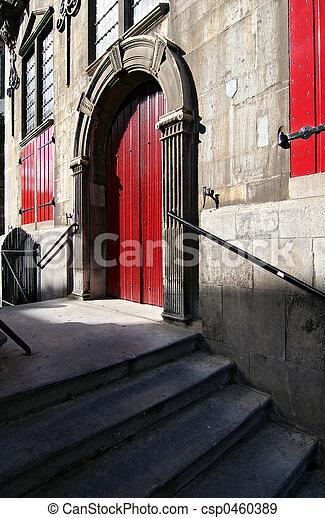 Red Door - csp0460389