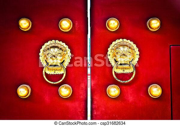 Red door - csp31682634