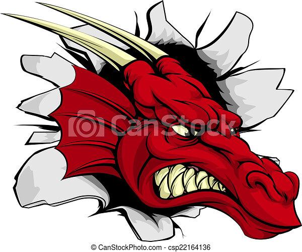 Red dragon breakthrough - csp22164136