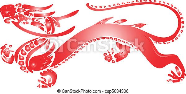 red dragon  - csp5034306