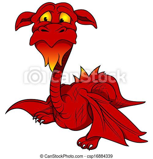 Red Dragon - csp16884339