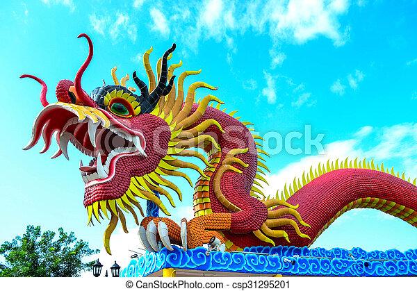 Red dragon - csp31295201