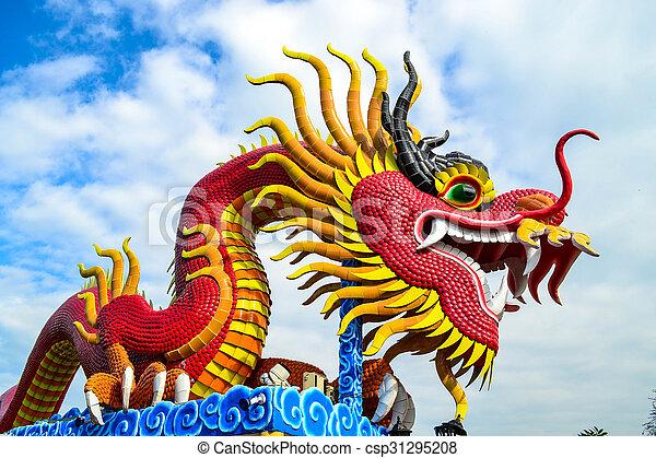 Red dragon - csp31295208