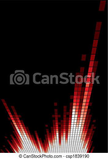 Red equalizer - csp1839190