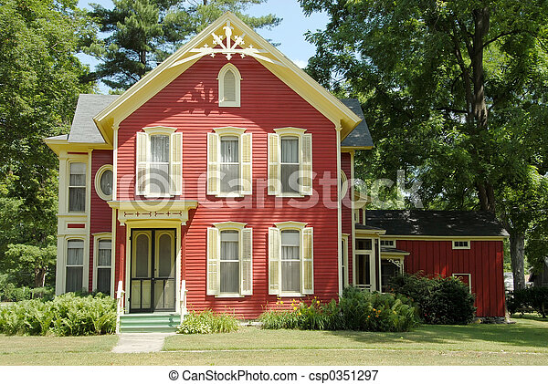 Red Farm House - csp0351297