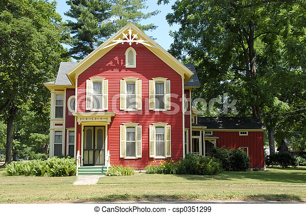 Red Farm House - csp0351299