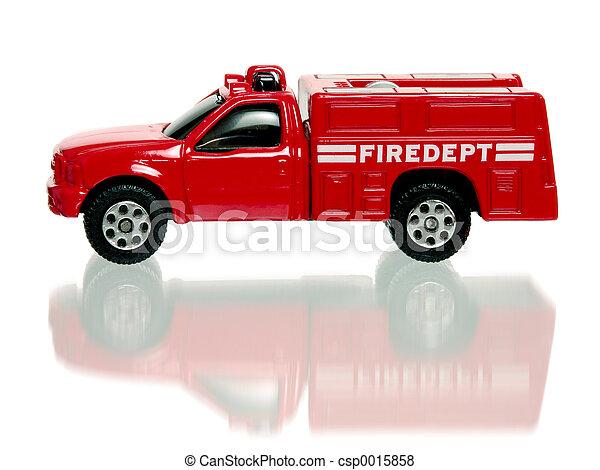 Red Firetruck - csp0015858