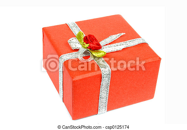 Red Gift - csp0125174