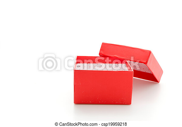 Red giftbox - csp19959218