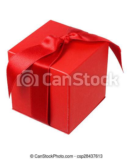 Red Giftbox - csp28437613