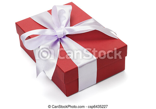 Red giftbox - csp6435227