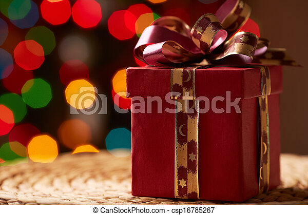 Red giftbox - csp16785267