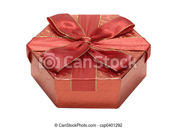 Red Giftbox - csp0401292