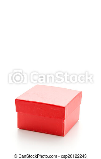 Red giftbox - csp20122243