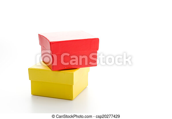 Red giftbox - csp20277429
