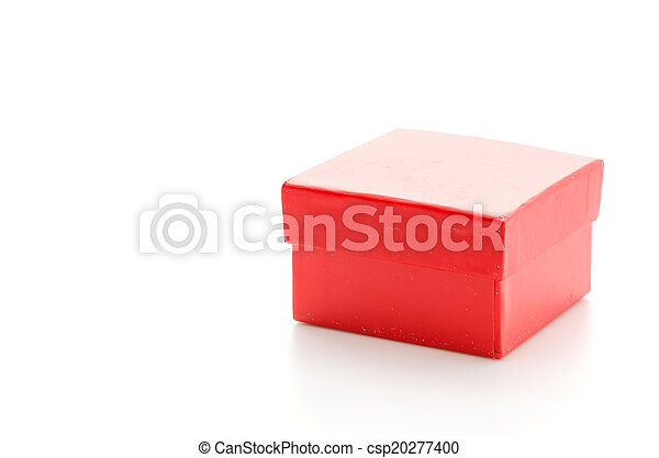 Red giftbox - csp20277400