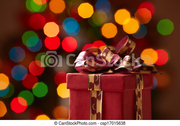 Red giftbox - csp17015638